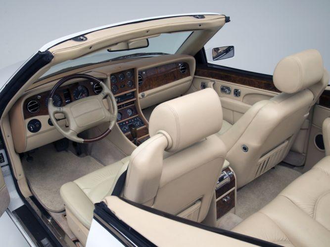 Bentley azure cars convertible US-spec 1995 wallpaper