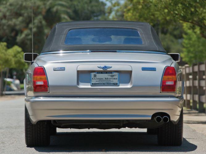 Bentley azure Mulliner cars convertible 2001 wallpaper