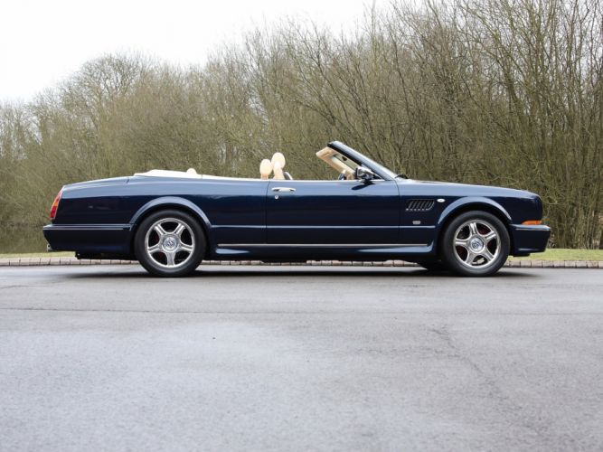 Bentley azure Le Mans Limited Edition cars convertible 2002 wallpaper