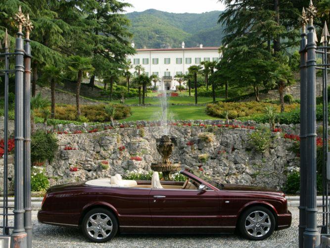 Bentley azure cars convertible 2007 wallpaper