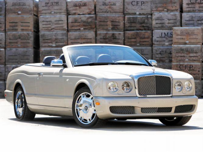 Bentley azure cars convertible Us-spec 2007 wallpaper
