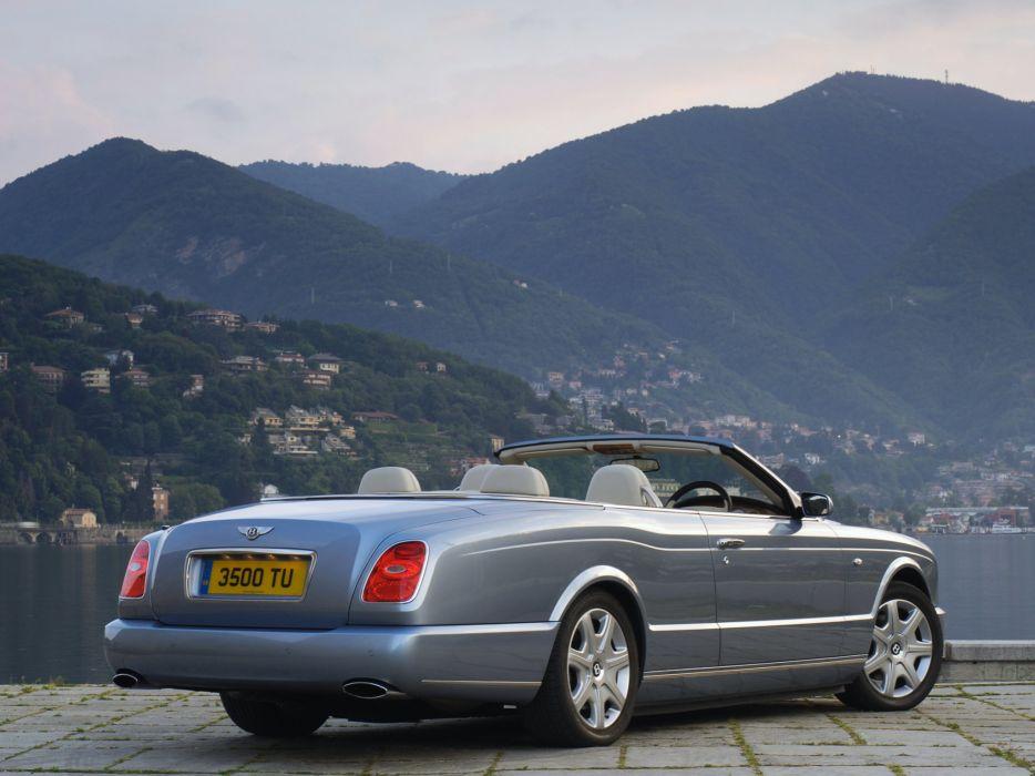 Bentley azure cars convertible UK-spec 2007 wallpaper