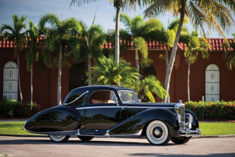 Bentley Mark-VI Coupe Figoni Falaschi cars classic 1947 wallpaper