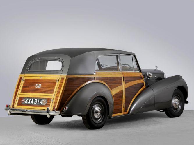 Bentley Mark-V Countryman Radford cars classic 1946 wallpaper