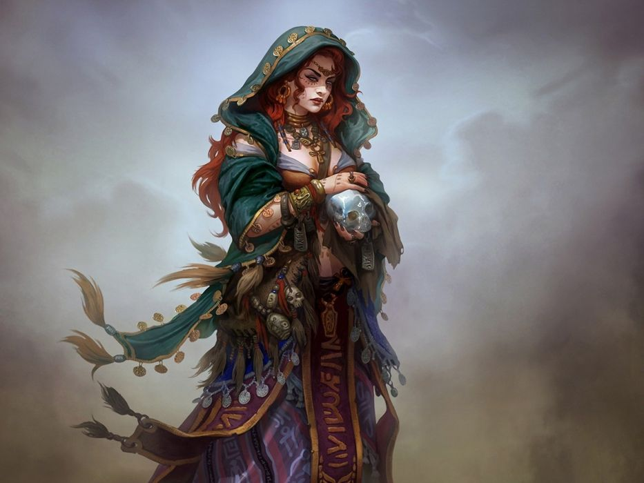 Arts heaven game girl online game wallpaper