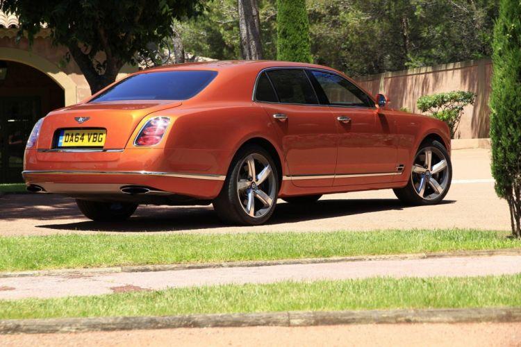 Bentley Mulsanne Speed cars 2015 wallpaper