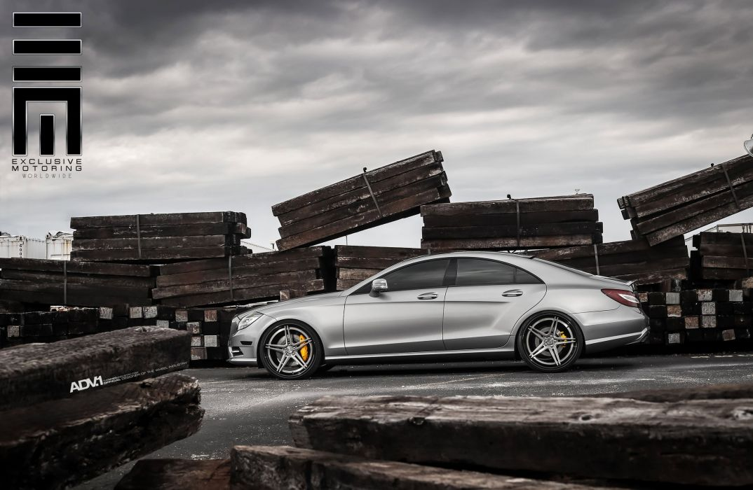 ADV1 WHEELS GALLERY MERCEDES CLS63 cars wallpaper