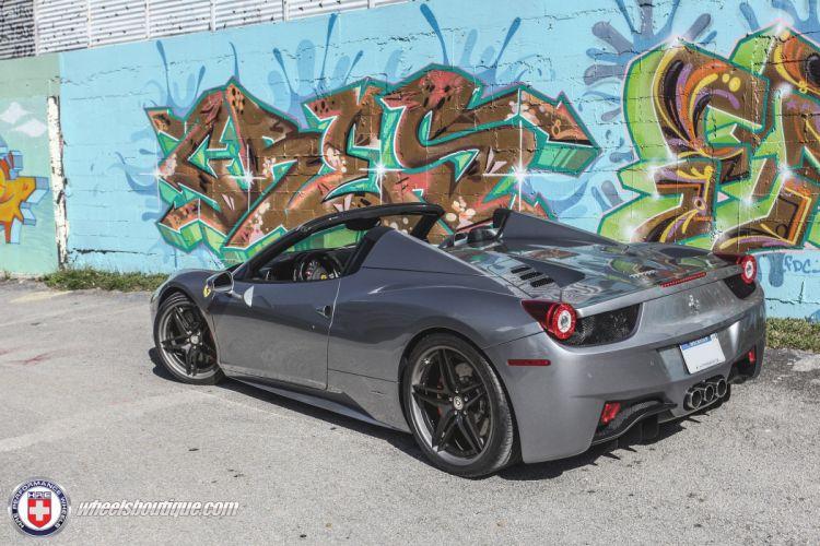 hre WHEELS GALLERY ferrari 458 spider cars wallpaper