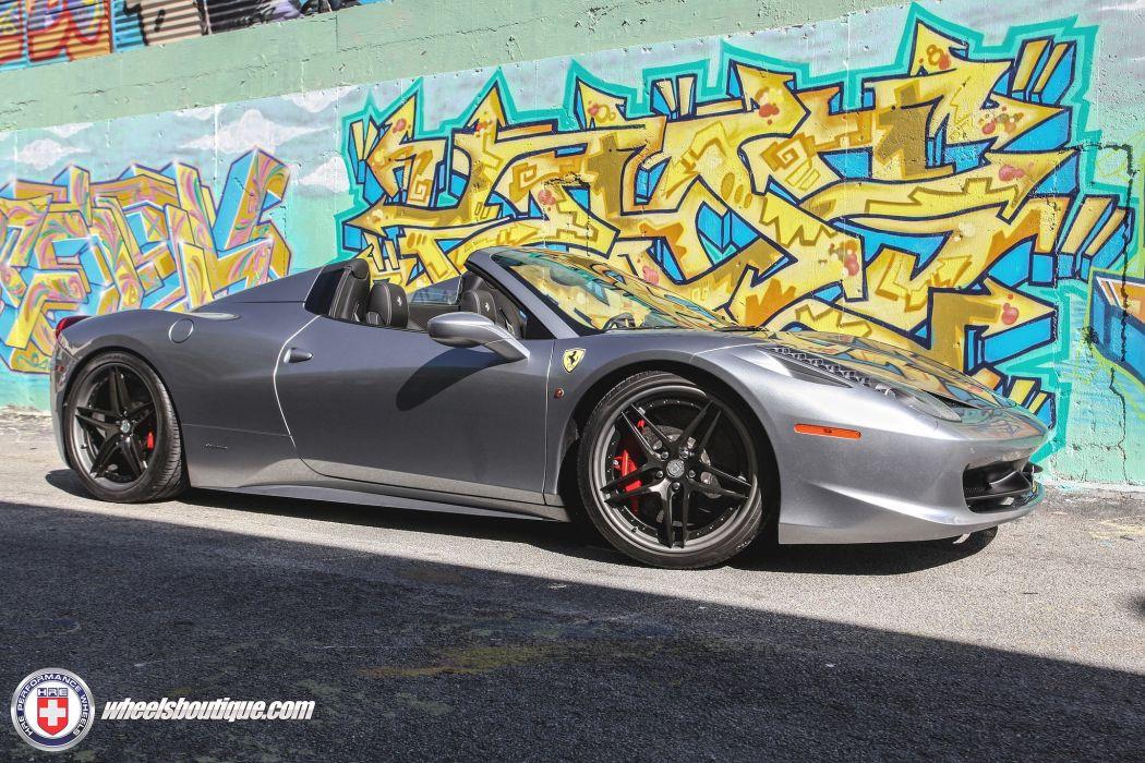 Hre Wheels Gallery Ferrari 458 Spider Cars Wallpaper 2048x1365