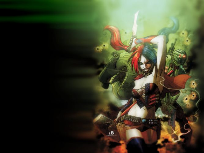 DC-COMICS superhero hero warrior d-c comics harley quinn d wallpaper