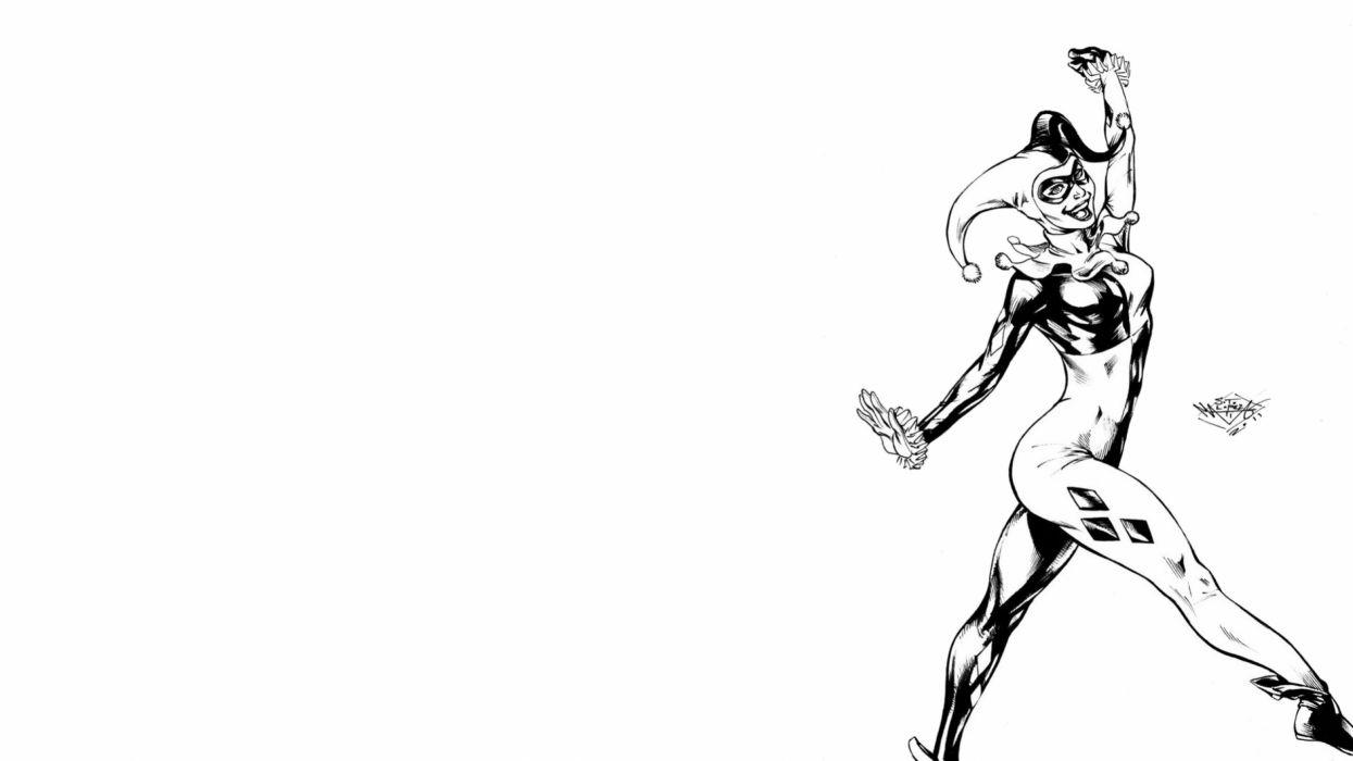 DC-COMICS superhero hero warrior d-c comics harley quinn d wallpaper