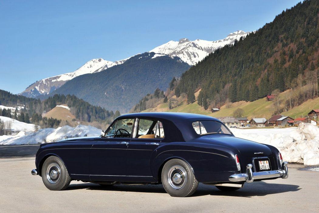 Bentley-S1 Continental Saloon Mulliner cars classic 1957 wallpaper