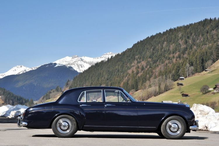 Bentley-S1 Continental Saloon Mulliner cars classic 1957 wallpaper