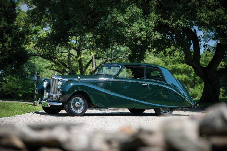 Bentley Mark-VI 4 Az Litre Coupe Hooper classic cars 1951 wallpaper