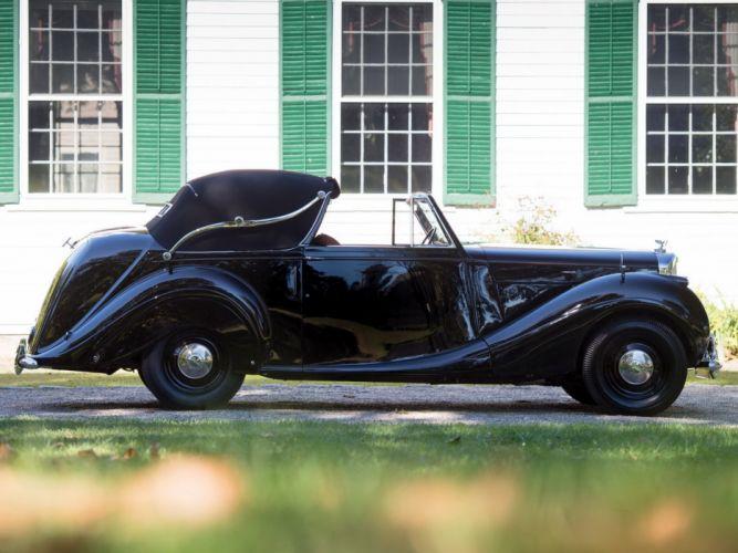 Bentley Mark-VI Drophead Coupe James Young classic cars 1948 wallpaper