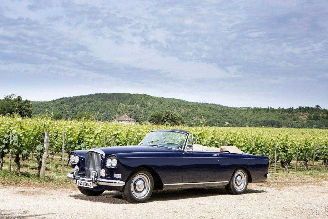 Bentley-S3 Continental Convertible Mulliner Park Ward classic cars 1962 wallpaper