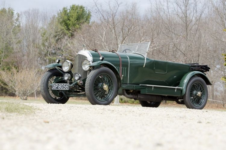 Bentley 3-Litres Speed Tourer Chalmer Hoyer cars classic 1923 wallpaper