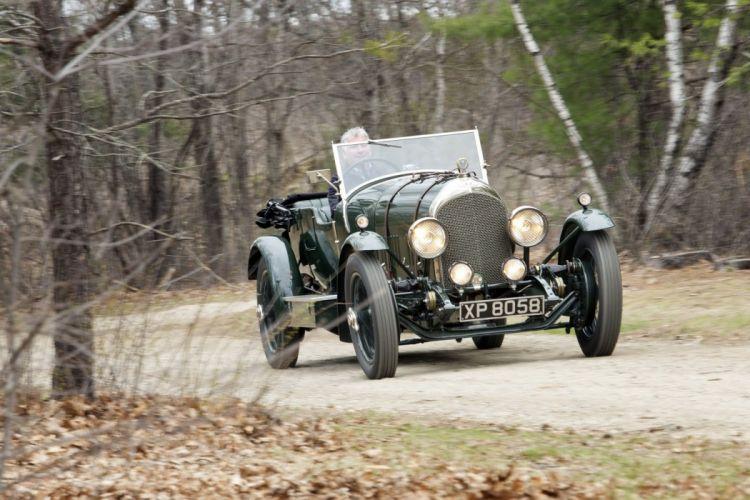 Bentley 3-Litres Speed Tourer Chalmer Hoyer cars classic 1923 wallpaper
