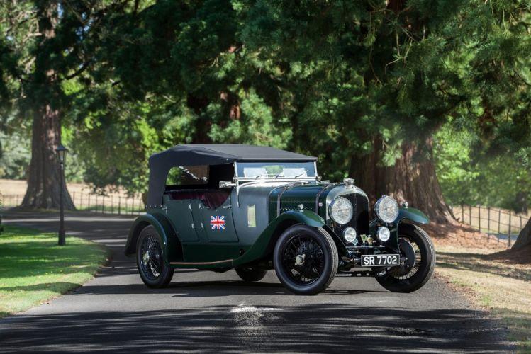 Bentley 4 Az Litre Tourer Cadogan cars classic 1927 wallpaper