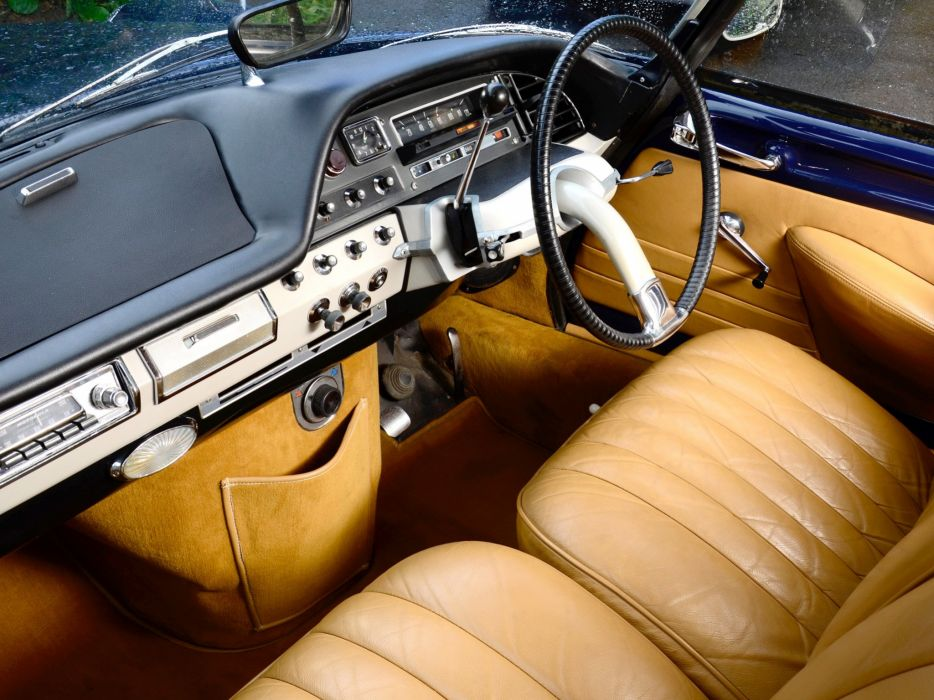 1962 cars Citroen classic convertible UK-spec ds-19 wallpaper
