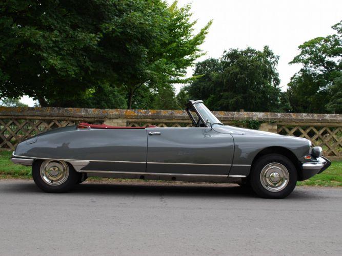 1965 cars Citroen classic dA wallpaper