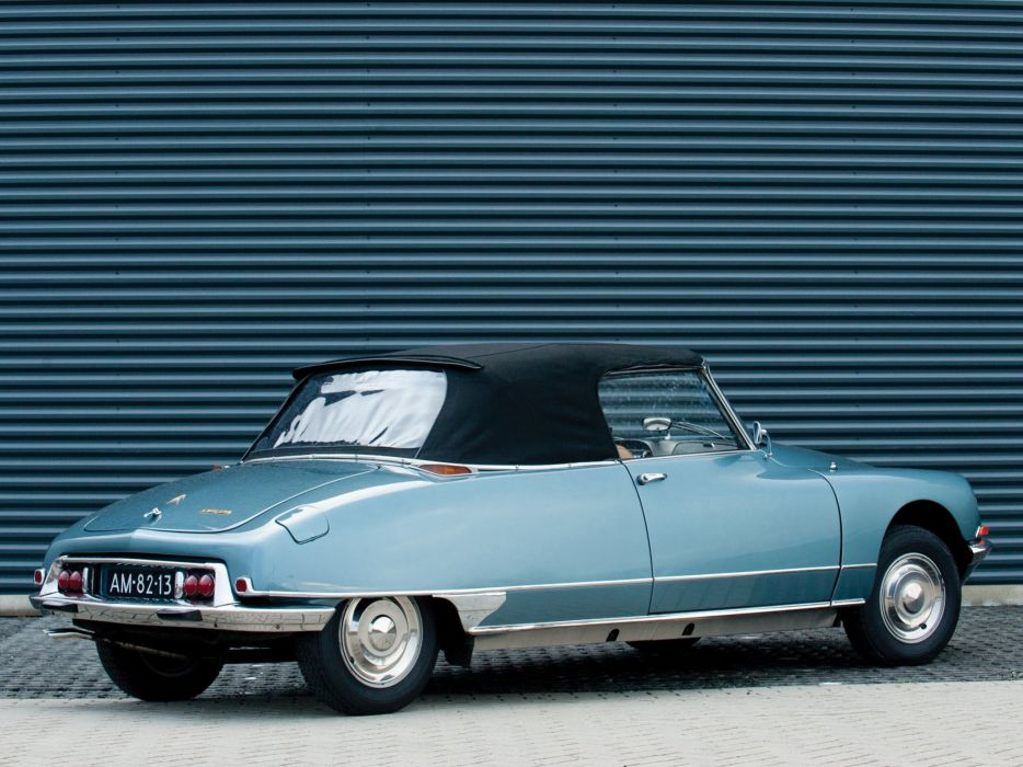 1968 cars Citroen classic dA wallpaper