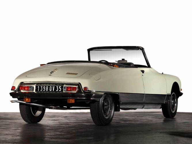 1973 cars Citroen classic ds-23 convertible wallpaper