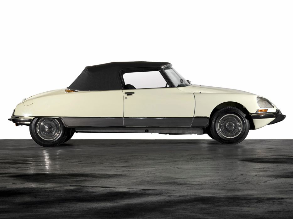 1973 cars Citroen classic ds-23 convertible wallpaper