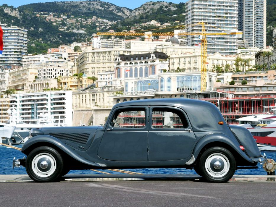 1934 avant cars Citroen classic traction wallpaper