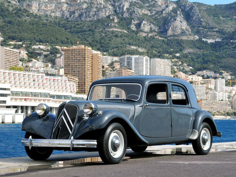 1934 avant cars Citroen classic traction wallpaper