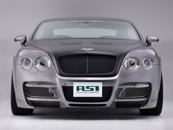ASI Bentley Continental-GT Speed cars modified 2008 wallpaper