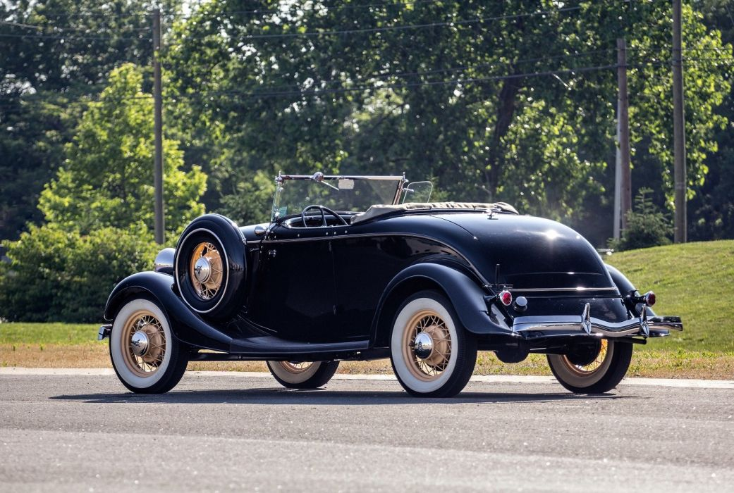 1934 Ford-V8 Deluxe Roadster cars classic wallpaper