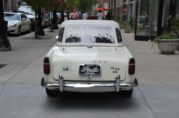 1966 Triumph TR4A IRS roadster cars classic wallpaper