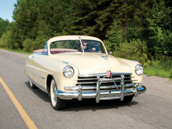 1950 Hudson Commodore Custom Eight Convertible Brougham cars classic wallpaper