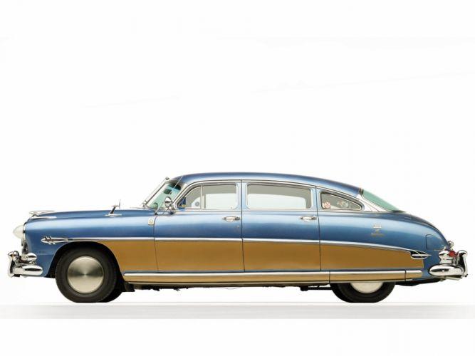 Hudson Hornet Sedan cars classic 1953 wallpaper