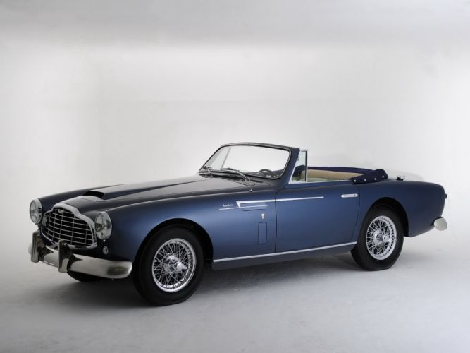 Aston Martin DB2-4 Drophead Coupe cars bretone 1953 wallpaper