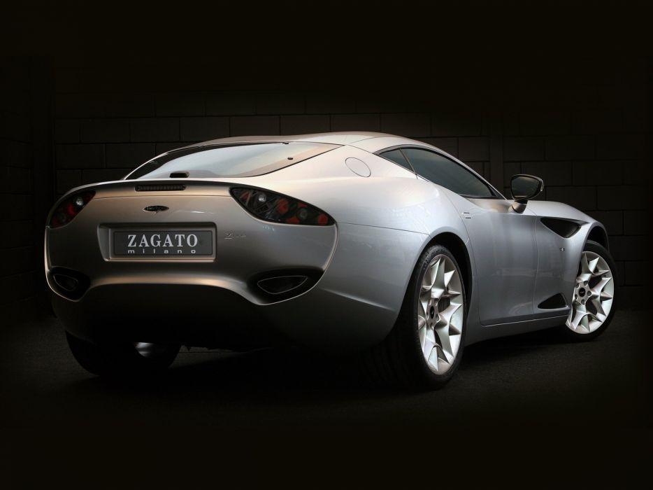 Zagato Perana Z-One coupe cars 2009 wallpaper