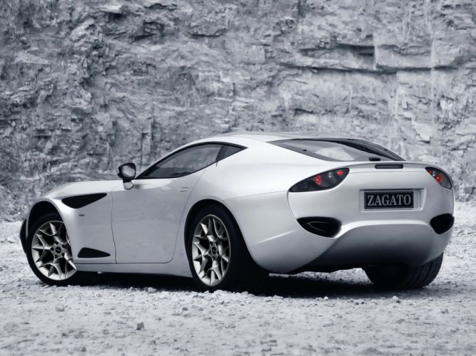 Zagato Perana Z-One coupe cars 2009 wallpaper