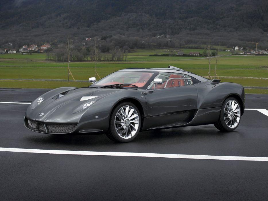 Zagato Spyker C12 coupe cars 2007 wallpaper
