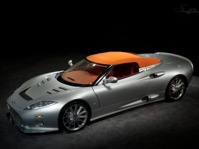 Spyker-c8 Aileron Spyder cars 2009 wallpaper