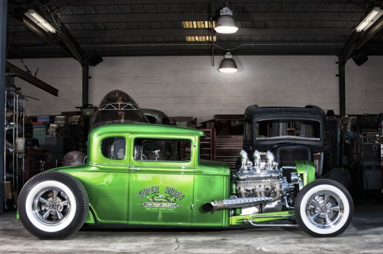 1930 Ford hot rod cars custom wallpaper