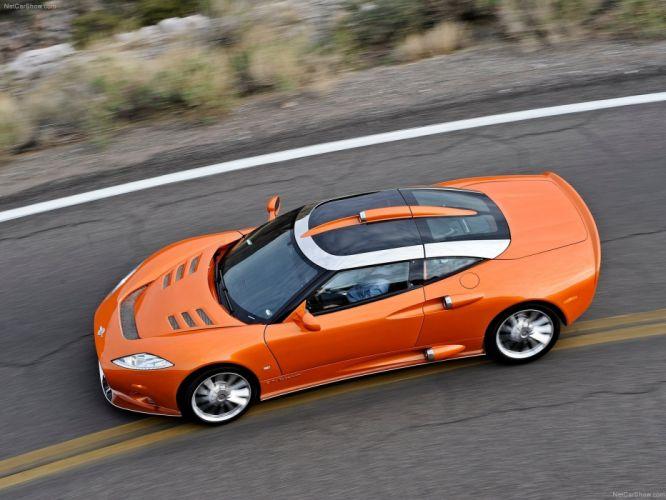 2009 aileron cars Spyker-C8 wallpaper