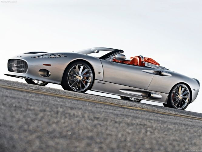 Spyker-C8 Aileron Spyder cars 2010 wallpaper
