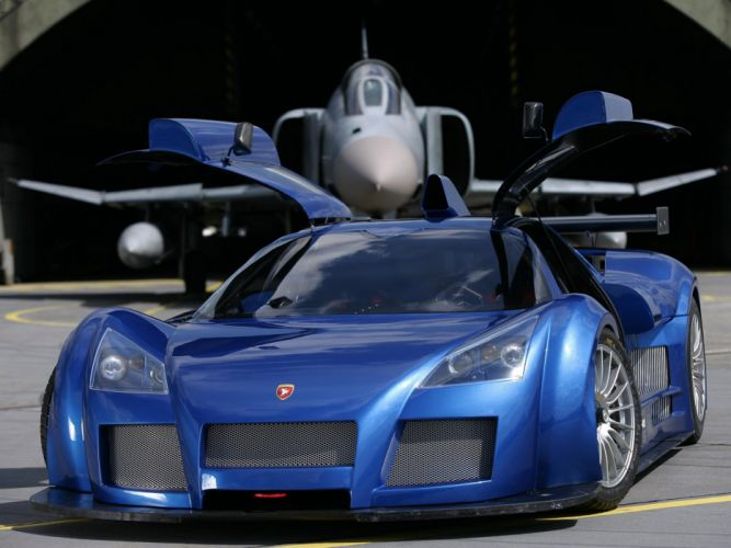 Gumpert Apollo cars supercars 2006 wallpaper