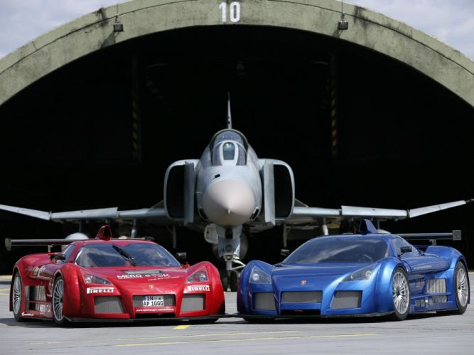 Gumpert Apollo cars supercars 2006 wallpaper