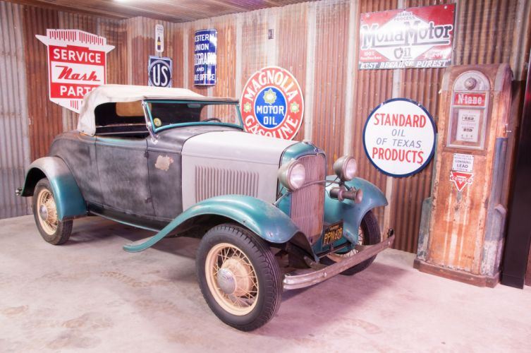 1932 Ford Roadster Classic Old Vintage Retro Unrestored USA -04 wallpaper