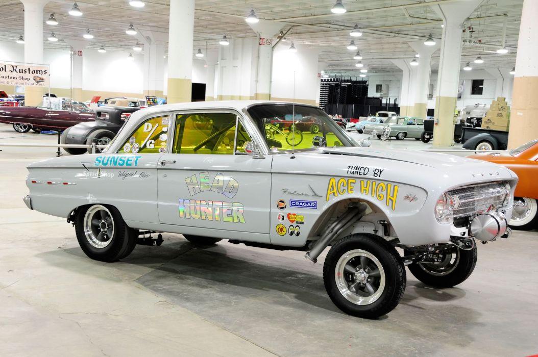 1961 Ford Falcon Gasser Drag Dragster Race USA -01 wallpaper