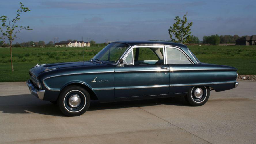 1961 Ford Falcon Sedan Classic Original Old USA -02 wallpaper
