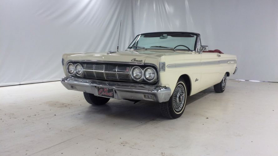 1964 Mercury Comet Caliente Convertible Muscle Classic Old USA -01 wallpaper
