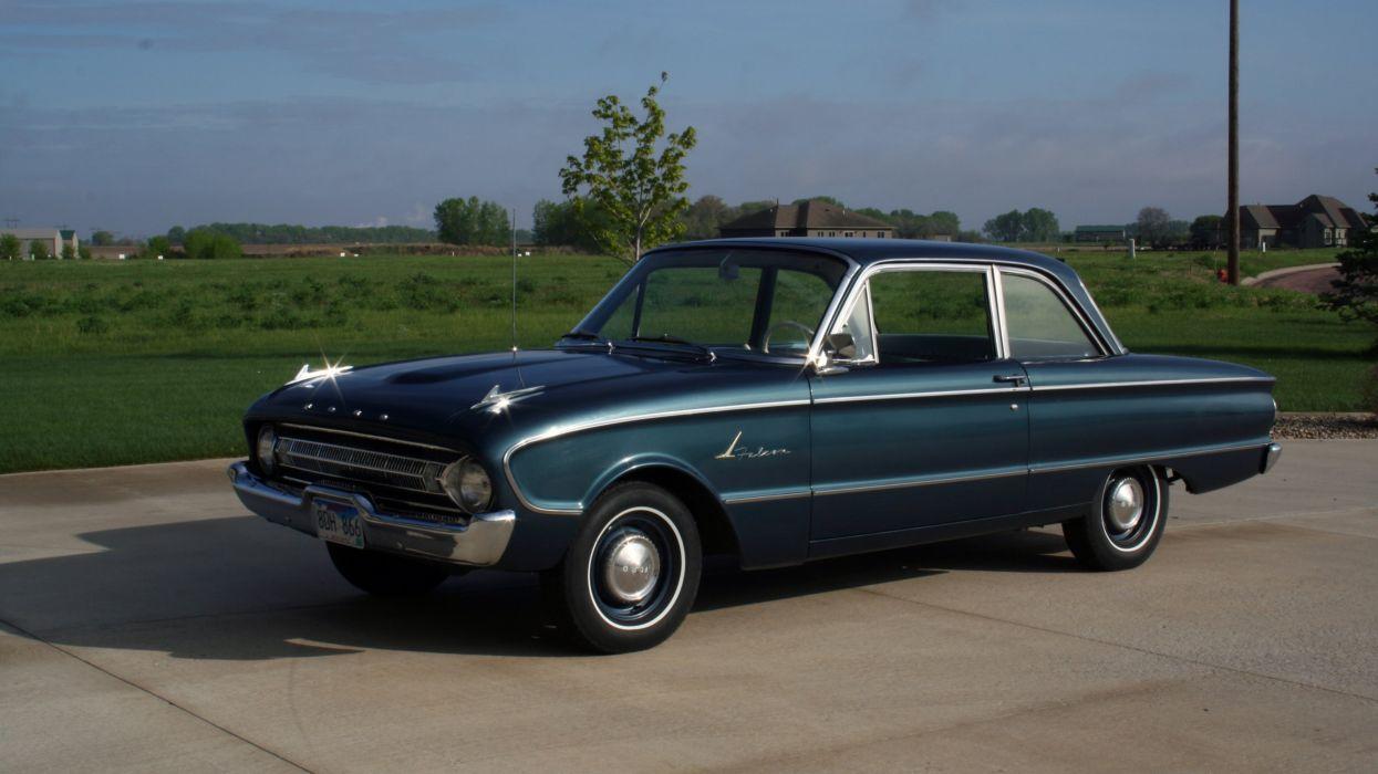 1961 Ford Falcon Sedan Classic Original Old USA -01 wallpaper